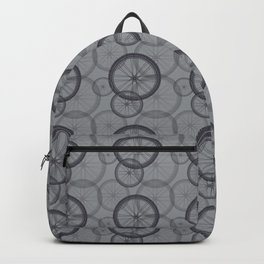 Bicycle 06 Tire Pattern Mono Graphic Backpack