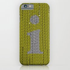 Winter clothes. Letter i. iPhone 6s Slim Case