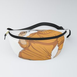 Cosplay Nerd pin up Fanny Pack