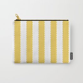 PRIMROSE YELLOW STRIPES Carry-All Pouch