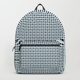 Heartless Pattern in Aqua Backpack