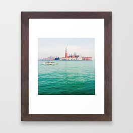 San Giorgio Maggiore Island Framed Art Print