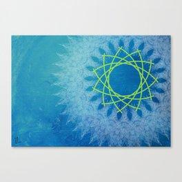 Ice Rotation Canvas Print
