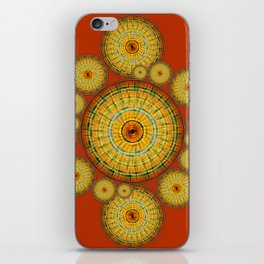 Copernicus, Descartes, and the Mayan Corn Calendar iPhone Skin