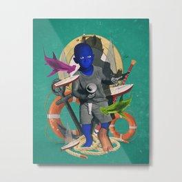 DAWSON SAIL Metal Print