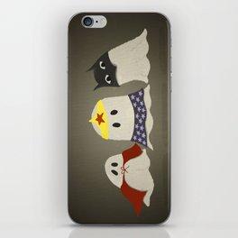 Ghost Cosplay iPhone Skin