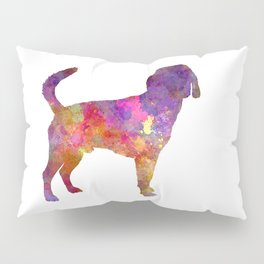 Beagle Harrier in watercolor Pillow Sham