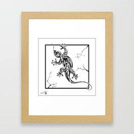 Reptile Framed Art Print