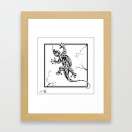 Reptile Framed Art Print