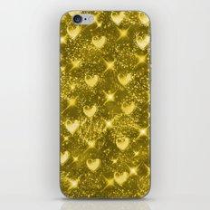 Shiny Gold iPhone & iPod Skin