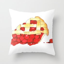 Cheer-y Pie Throw Pillow