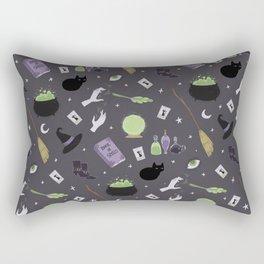 Witchy Woman Pattern Rectangular Pillow