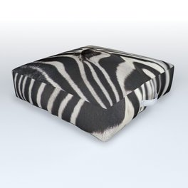 Zebra Eye Outdoor Floor Cushion
