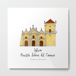 Iglesia del Carmen Metal Print