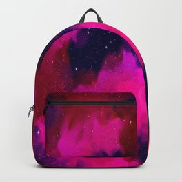 Between Worlds, Universe Space Stars Nebula Backpack