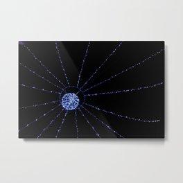 blue web Metal Print