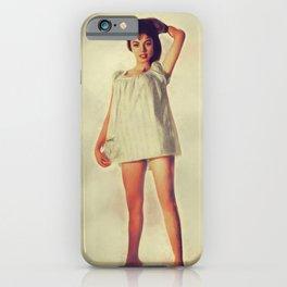 Jackie Lane, Vintage Actress iPhone Case