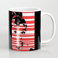audrey Mugs featuring Audrey by Heaven7