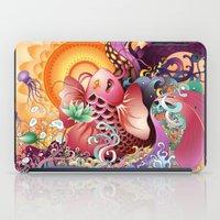 koi iPad Cases featuring Koi by Nick La