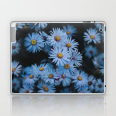 Blue Asters Laptop & iPad Skin