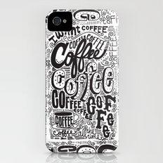 COFFEE COFFEE COFFEE! iPhone (4, 4s) Slim Case