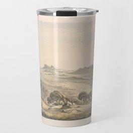Australian Landscapes by Eu von Guerard Date 1865  Romanticism  Landscape Travel Mug