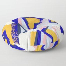 Memphis Postmodern Underwater Ocean Floor Pillow