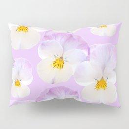 Pansies Dream #2 #floral #pattern #decor #art #society6 Pillow Sham
