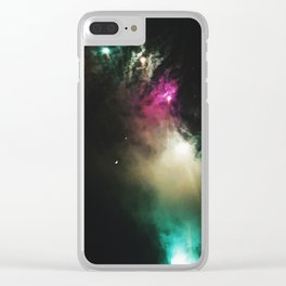 Work of Fire: part one Clear iPhone Case