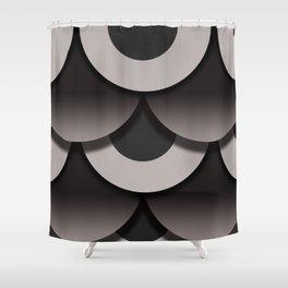 Doughnut Box Shower Curtain