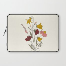 Wildflowers Bouquet Laptop Sleeve