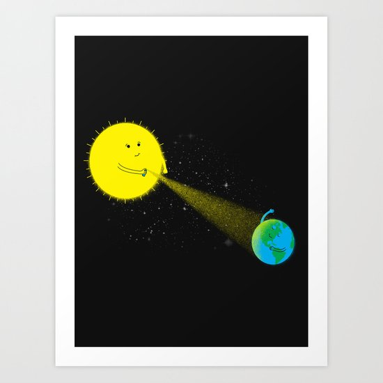Sp-ray of Hope Art Print