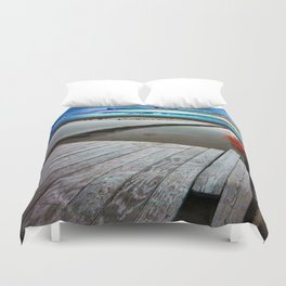 Beyond The Clowns Duvet Cover