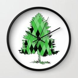 Fir Wall Clock