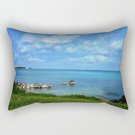 Island of Bermuda Rectangular Pillow