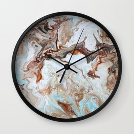 Milk Chocolate with peppermint & cream 2 Wall Clock