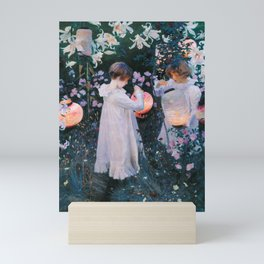 John Singer Sargent Carnation Lily Lily Rose Mini Art Print