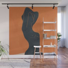 Abstract Nude IV Wall Mural