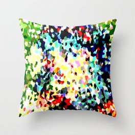Crystallize 8 Throw Pillow