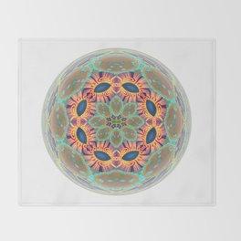 Jeweled Sphere Abstract Geometric Print Throw Blanket