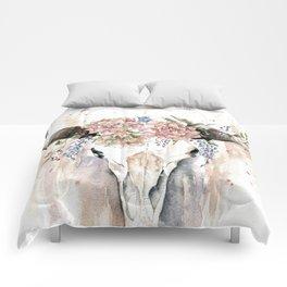 Rustic Boho Longhorn Comforters
