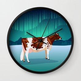 Ayrshire // Winter Wall Clock