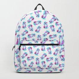 Australian Shepherd in Watercolor Splash Backpack