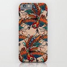 rooster ink beige iPhone 6s Slim Case
