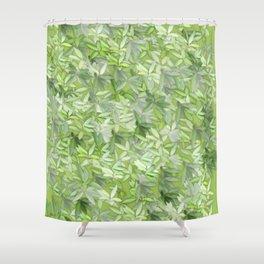 floral flower pattern Shower Curtain