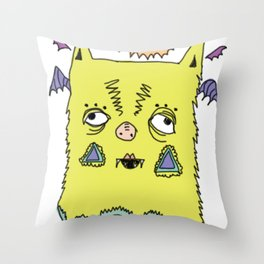 murciélago Throw Pillow