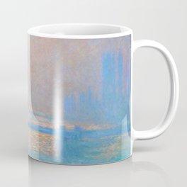 "Claude Monet ""Charing Cross Bridge, The Thames"" (1903) Coffee Mug"