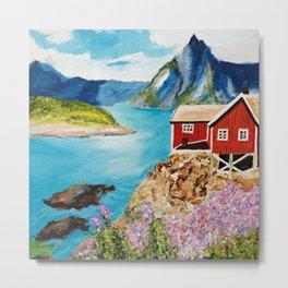 Lofoten Islands, Norway Metal Print