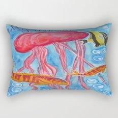 Jelly Fish Rectangular Pillow