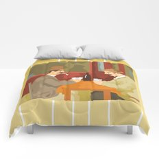 Card players by Cezanne Comforters